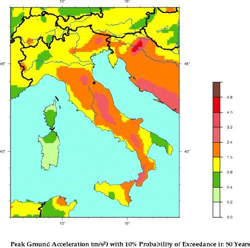 Rischio sismico italiano for Rischio sismico in italia